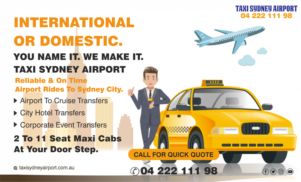 sydney airport taxis