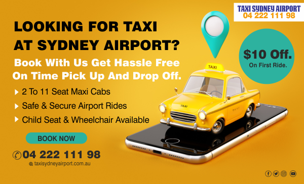 taxi from sydney airport to city