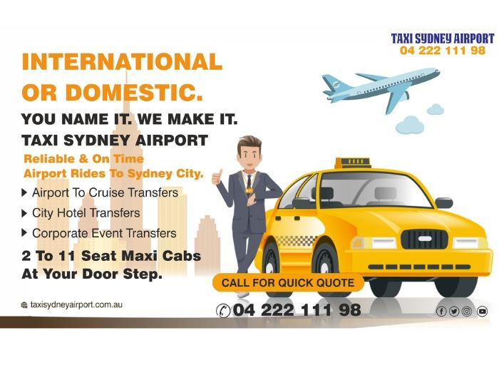taxi sydney airport